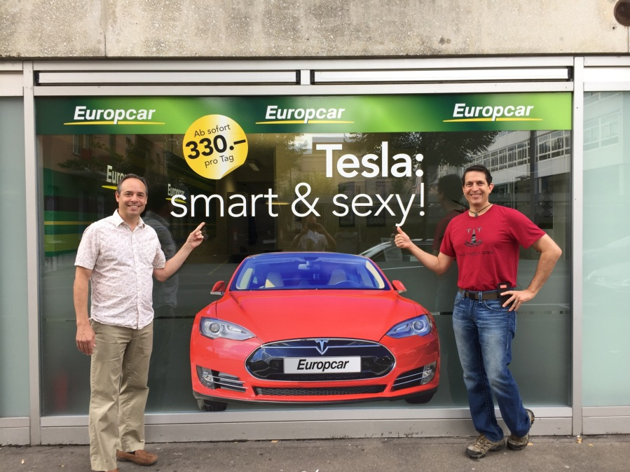 Smart and S3XY: Rent a Tesla