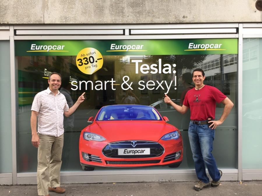 Smart and S3XY: Rent aTesla