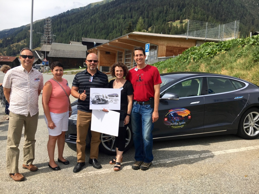 Lunch with Swiss Tesla Owner's Club